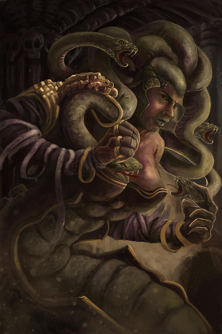 Medusa by MICKEYTORRES