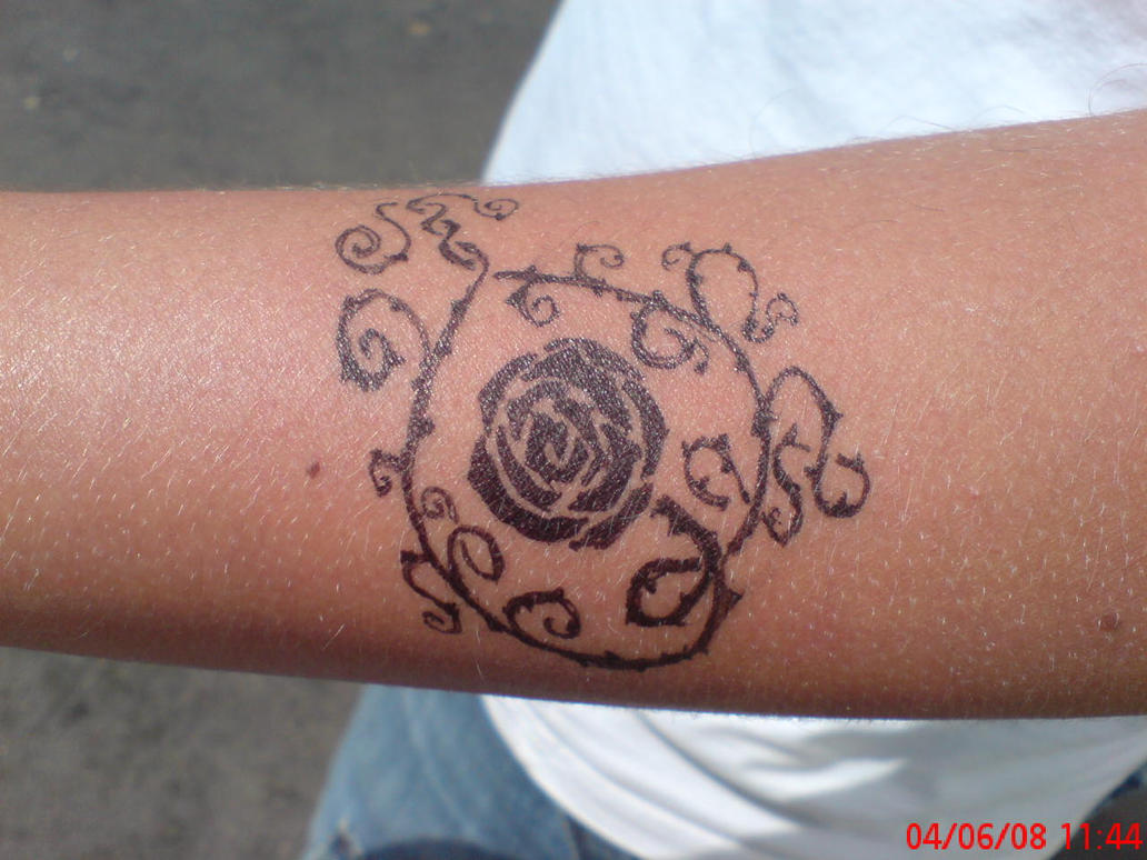 rose tattoo stencils
