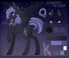 Starry Night Reference 2.0 by Dusty-Onyx