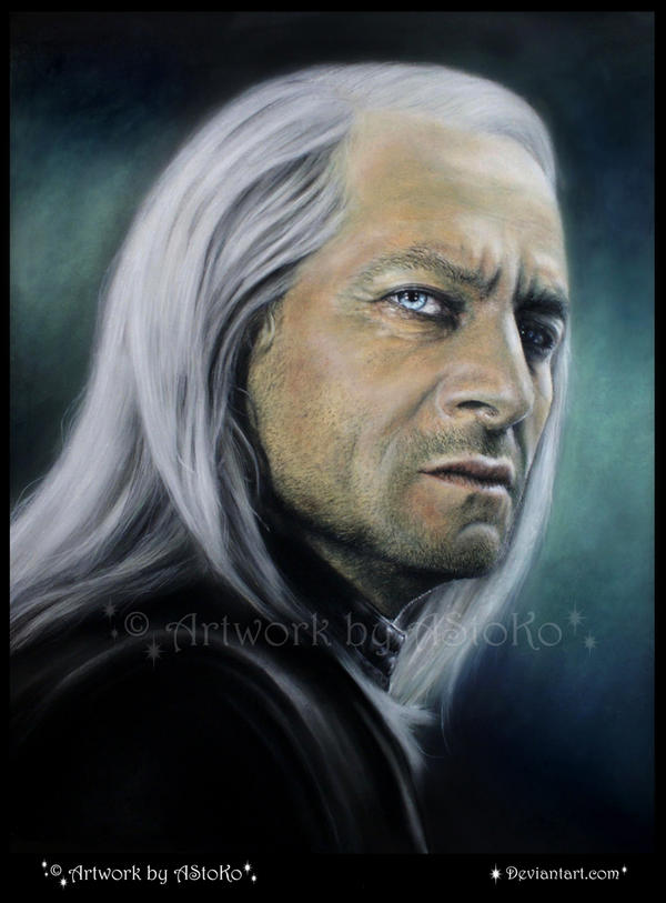 Lucius Malfoy drawing by AStoKo