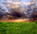 Sunset Field Meadow 2 ~ Stock by AStoKo