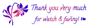 thank you watch and fave 1 ~ FREESTUFF