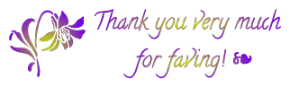 flower ~ thank you for the fave 1 FREESTUFF by AStoKo
