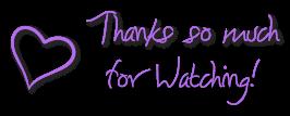 Thank you for watching - heart FREESTUFF