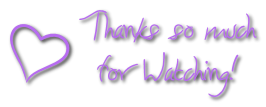Thank you for watching - heart FREESTUFF by AStoKo