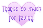 Thanks so much for faving ~ heart 1 FREESTUFF