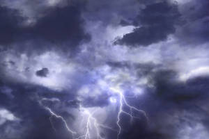 Thunderstorm sky dark clouds ~ STOCK by AStoKo