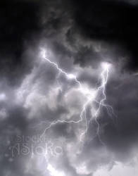 S T O C K ~ Stormy thunderstorm lightning by AStoKo