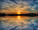 Sunset Water Reflection  FREE  S T O C K