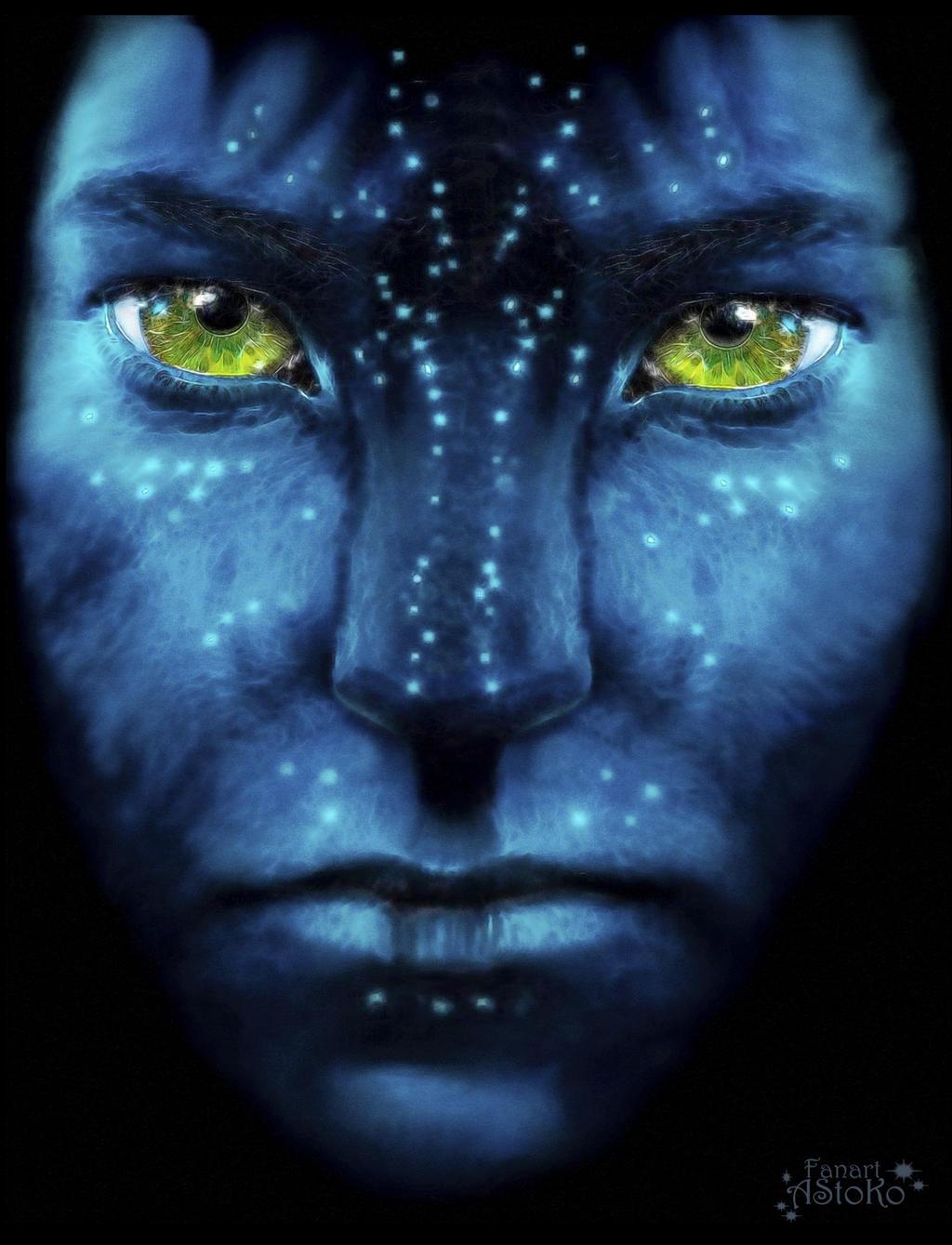Jake Sully ~ Avatar ~ Pandora ~ Fanart by AStoKo