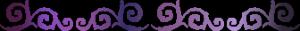 Divider Ornament purple - FREESTUFF