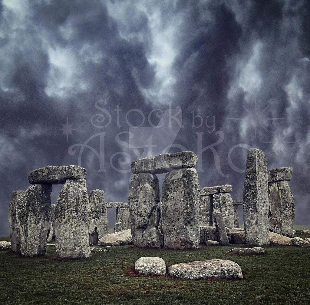 Stone Circle 1b by AStoKo