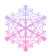 CHRISTMAS STAR SNOWFLAKE ICE CRYSTAL 8 ~ FREESTUFF by AStoKo