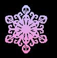 CHRISTMAS STAR SNOWFLAKE ICE CRYSTAL 6 ~ FREESTUFF by AStoKo