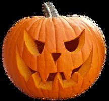 Halloween pumpkin clearcut STOCK by AStoKo