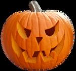Halloween pumpkin clearcut STOCK