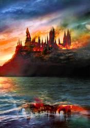 Hogwarts - The End ~ Fanart