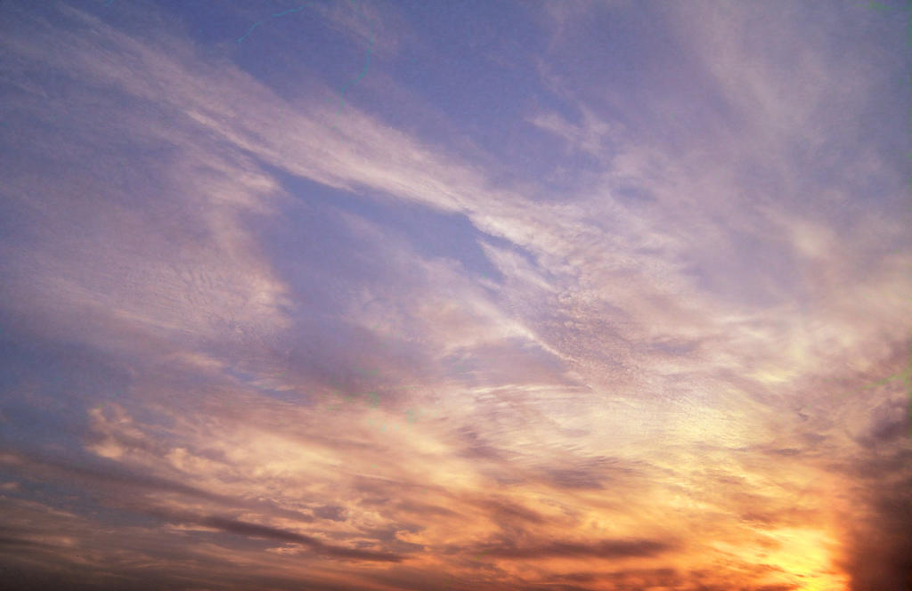 Colorful clouds 8 ~ S T O C K by AStoKo