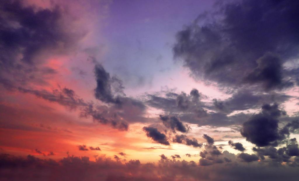 Sunset sky 13  STOCK by AStoKo