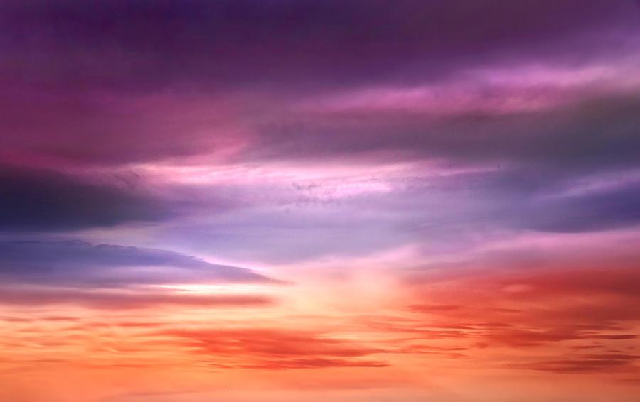 Evening sky S T O C K by AStoKo by AStoKo