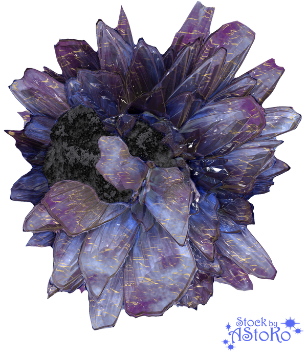 Crystal Geode Mineral V5 STOCK by AStoKo