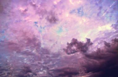 Pastel Fantasy Sky FREE STOCK by AStoKo
