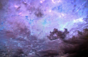 Sky cloudy purple free Stock by AStoKo