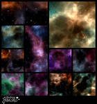Space and Stars Pack 1 VS for COMMERCIAL use