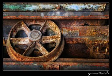 Wheel mining wagon 01