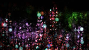 Lights in the darkness bokeh background by AStoKo
