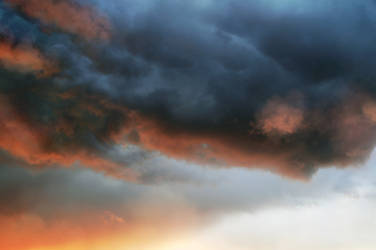 Dark clouds ~ stormy skyscape 0118 STOCK by astoko by AStoKo