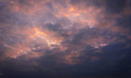 Fluffy Clouds Sky STOCK FREEBIE