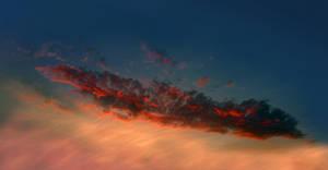 Cloudship Sky HDR STOCK