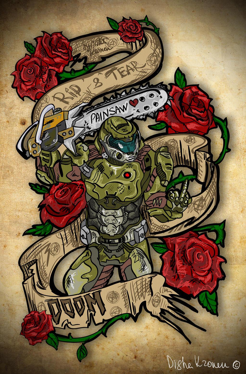 Doom Tattoo Best Tattoo Ideas