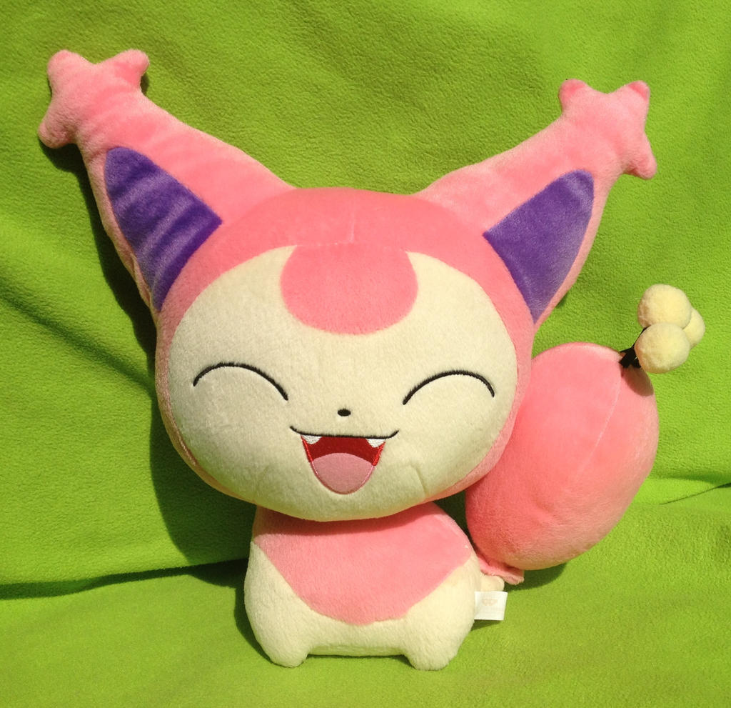 Banpresto DX Skitty plush doll!!! :D by kovuification