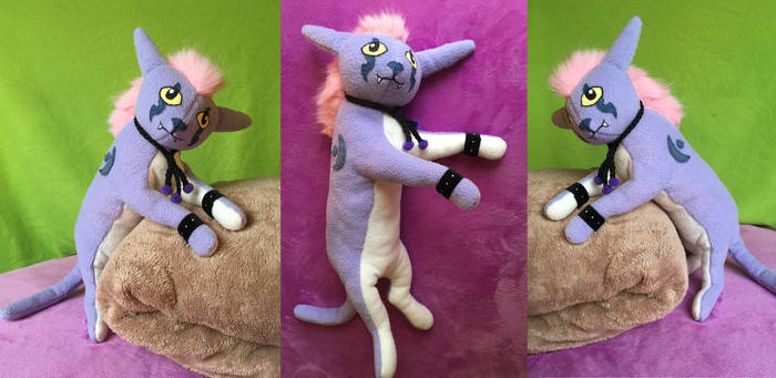 Nightelf Druid Cat Form plushie :)