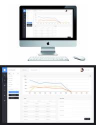 Admin Theme UI - Dashboard