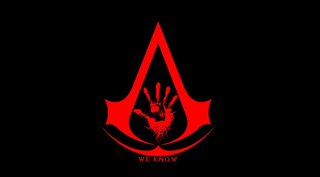 The Dark Brotherhood And Assassins Creed Logo By Evilwarrior37