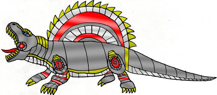 Spine Dimetrodon Mode