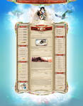 Age Of Zaria - Webdesign
