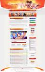 Dragonball-Tube - Webdesign by King--Sora