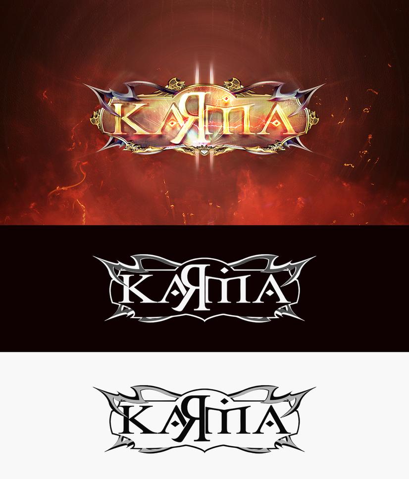 Karma2 - Logo Design by King--Sora