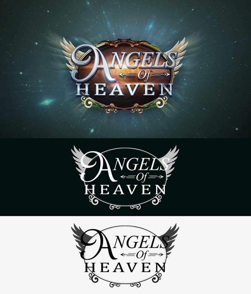 Angels of Heaven - Logo Design by King--Sora