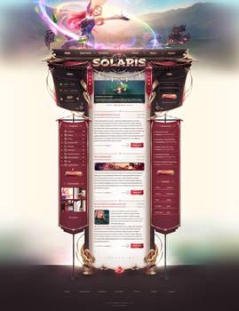 Solaris - Webdesign