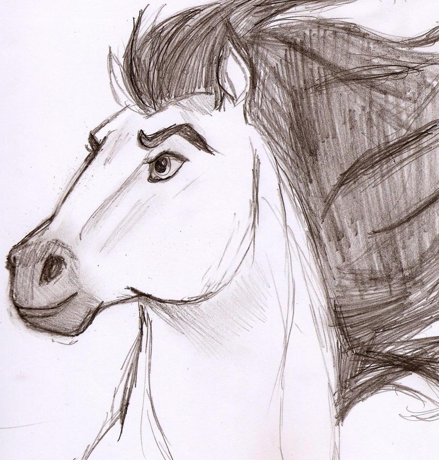Spirit Horse Drawing