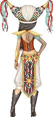 Aztec Cowboy Mage Warrior...Lady by Crazy-Lola