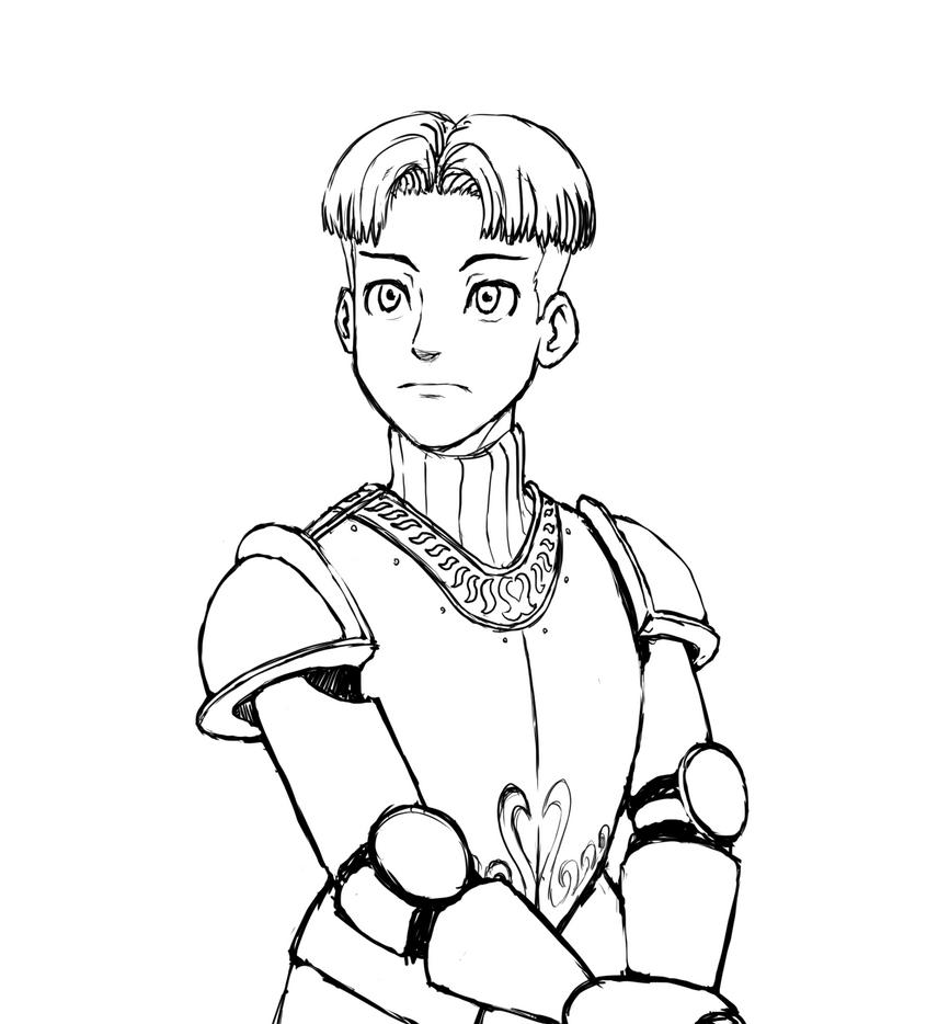 Young Knight by Genbaku