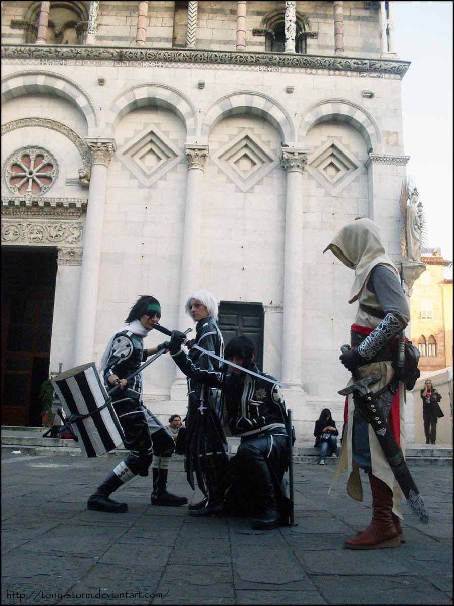 D.Gray Man e Assassin's Creed by Tony-STORM
