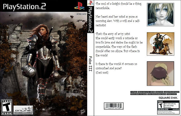 Ps2 Game Fabel 3 by WolfDragonGod