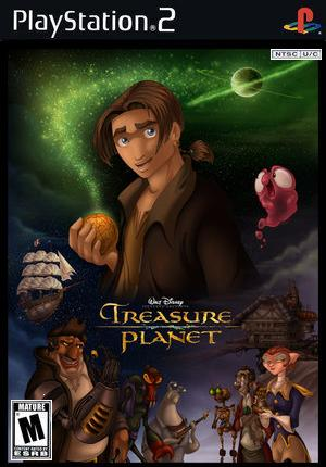 Ps2 Game Treasure Planet 2 by WolfDragonGod on DeviantArt